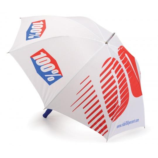 100% deštník Standard 110cm bílý