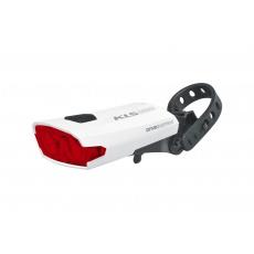 KELLYS Osvětlení zadní dobíjecí KLS INDEX USB 016 R, white