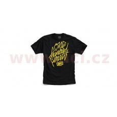 triko DISTRICT, dětské 100% (černá)