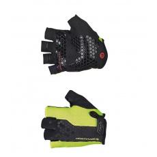 Pánské rukavice Northwave Grip Short Gloves Yellow Fluo/Black
