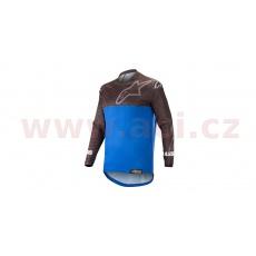 dres VENTURE R 2021, ALPINESTARS (černá/modrá)
