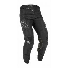 kalhoty KINETIC FUEL, FLY RACING - USA 2022 (černá/bílá)