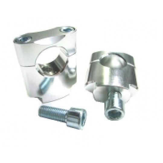 držáky  28,6mm/ 35mm  stříbrné universal