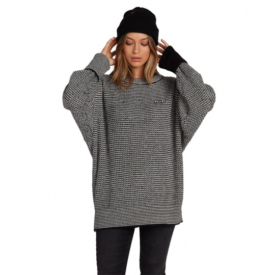 Dámský svetr Volcom tormstone weater Black