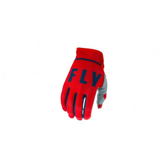 rukavice LITE 2020, FLY RACING (červená/šedá/navy)