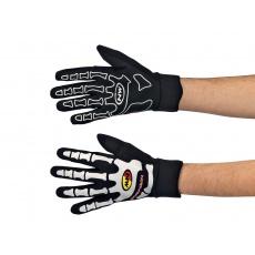 Pánské cyklo rukavice Northwave keleton W Gel Long Gloves Black/White