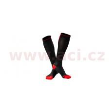 ponožky PUSH - Compressive, UNDERSHIELD (černá/červená)