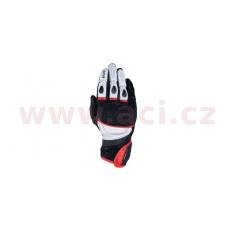 rukavice RP-3 2.0, OXFORD (černé/bílé/červené)