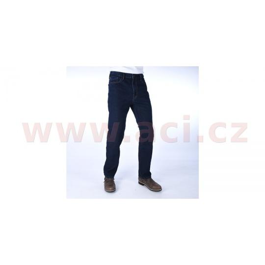 kalhoty Original Approved Jeans volný střih, OXFORD, pánské (modrá)