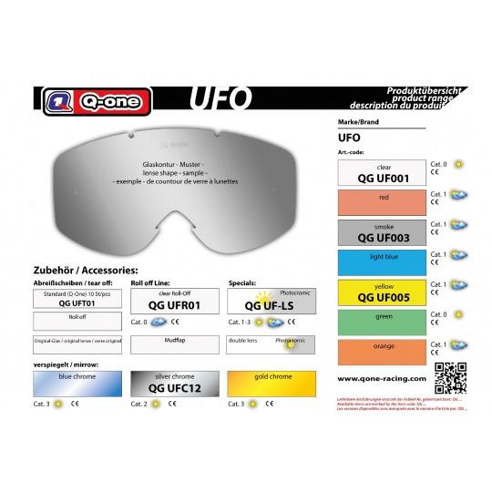 sklo UFO smoke