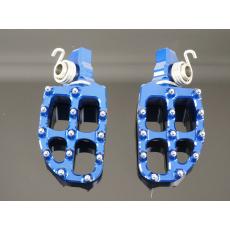 stupačky KTM SX(F) 16-,EXC(F) 17-  HQTC/FC16- ,TE/FE 17- modré