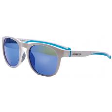 sluneční brýle BLIZZARD sun glasses PCSF706140, white shiny, 60-14-133