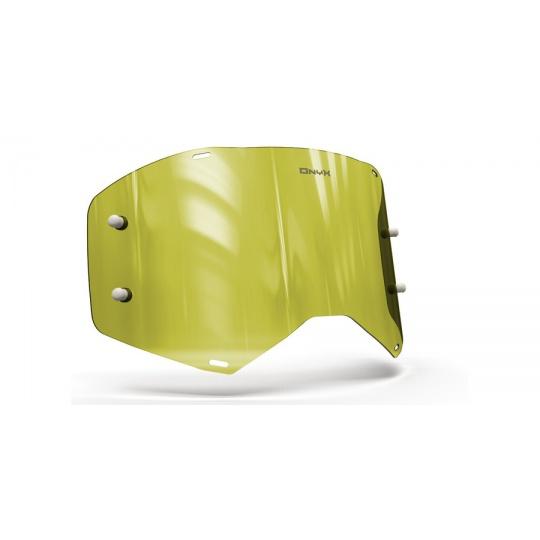 plexi pro brýle SCOTT PROSOECT, ONYX LENSES (Hi-Vis žluté s polarizací)