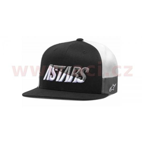 kšiltovka FASTER HAT, ALPINESTARS (černá/bílá/šedá)