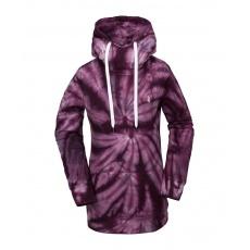 Dámská mikina Volcom Costus P/Over Fleece Purple