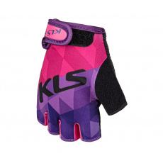 KELLYS Rukavice KLS YOGI short, purple, L