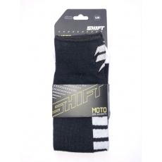 Dětské podkolenky Shift Youth Moto Sock Black/White S/M