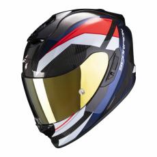 Moto přilba SCORPION EXO-1400 CARBON AIR LEGIONE červeno/modrá