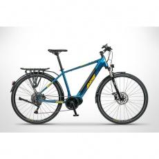 "Elektrokolo Apache Matto Tour MX1 (2021), 19"", Bafang - trekking 28"", 630 Wh, dark blue"