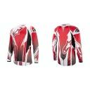Alpinestars A-line L/S Jersey  dres Red/Black,vel. L