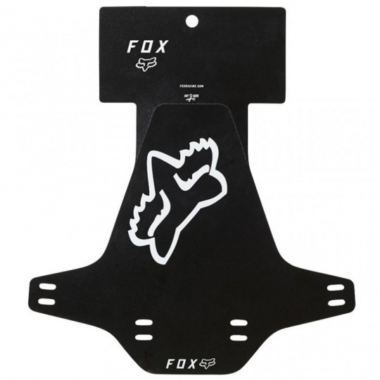 Blatník Fox Racing Mud Guard Black/White