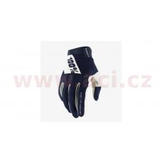 rukavice RIDEFIT, 100% - USA (modrá)