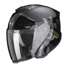 Moto přilba SCORPION EXO-S1 GRAVITY černo/stříbrná
