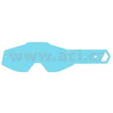 strhávací slídy plexi pro brýle 100% řady RACECRAFT/ACCURI/STRATA dospělé, Q-TECH (50 vrstev v balení, čiré)
