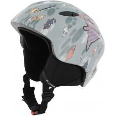 helma BLIZZARD Magnum ski helmet junior, grey cat shiny