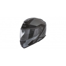 přilba Velocity ST 2.1, CASSIDA (stříbrná titanium/černá, plexi s přípravou pro Pinlock)