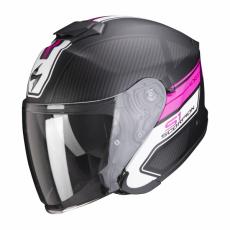 Moto přilba SCORPION EXO-S1 CROSS-VILLE matná černo/růžová