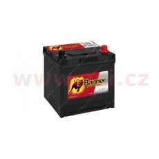 50Ah baterie, 420A, pravá BANNER Power Bull 202x173x202(225)
