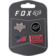 Odznaky Fox Pin Pack