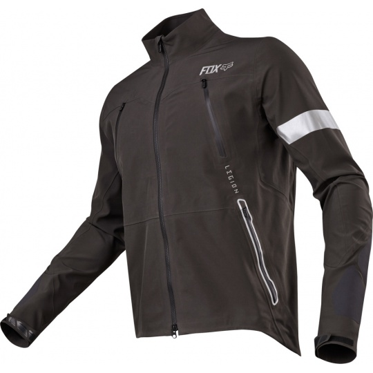 Pánská MX bunda Fox Racing Legion Downpour Jacket Charcoal