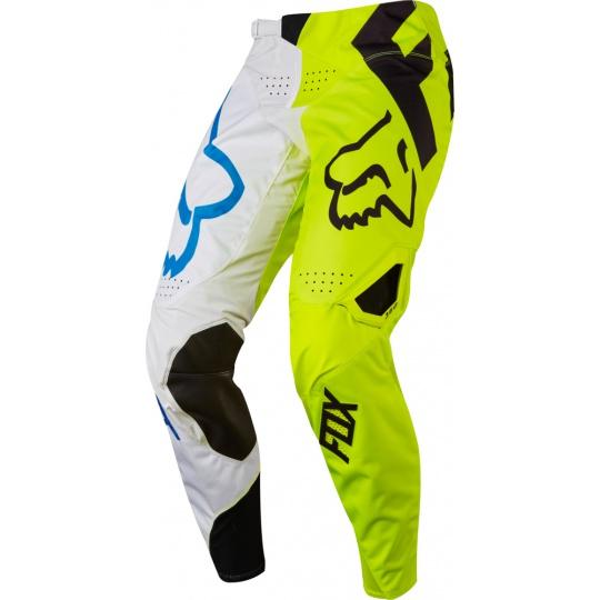 Pánské MX kalhoty Fox Racing 360 Creo Pant White/Yellow