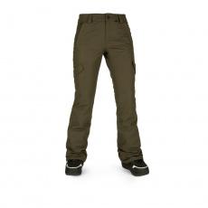 Dámské kalhoty Volcom Bridger Ins Pant Black Military
