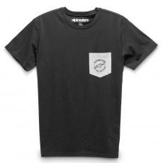 triko SPRINTED PREMIUM TEE, ALPINESTARS (černá)