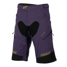 Alpinestars Drop 2 Shorts Purple Acid Yellow