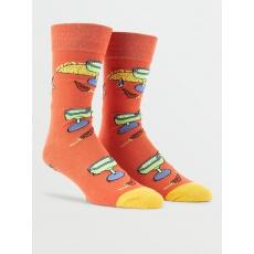 Pánské ponožky Volcom True Socks Yellow