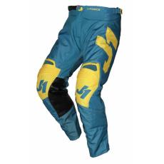 Moto kalhoty JUST1 J-FORCE TERRA modro/žluté